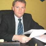 Burmistrz Słupcy Michał Pyrzyk