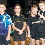 Młodzi tenisiści z naszego rejonu podczas zgrupowania Kadry Wielkopolski Młodzików w Brzegu Dolnym