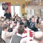 Radni zagłosowali za utworzeniem funduszu sołeckiego w 2010 roku