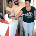 Głosowanie w Ostrowitem