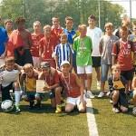 Zwycięskie drużyny Wakacyjnej Ligi piłki nożnej