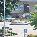 Tak wyglądała fontanna w poniedziałek 28 czerwca