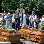 Halina i Stefan Śmiechowscy zostali pochowani tego samego dnia na słupeckim cmentarzu