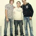 Łukasz GOFER Gątarczyk i bracia Herian nagrali piosenkę w poznańskim studiu
