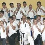 Zagórowska grupa karateków