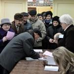 Lokal wyborczy w Ciążeniu