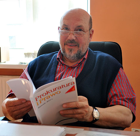 Od maja prokurator Marek Kosmalski opuszcza siedzibę Prokuratury Rejonowej.