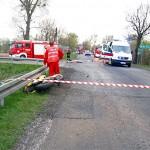 Tragicznie zakończyła się wyprawa motocyklowa dla jednego z mieszkańców Pyzdr