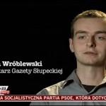 Marcin Wróblewski - dziennikarz Gazety Słupeckiej
