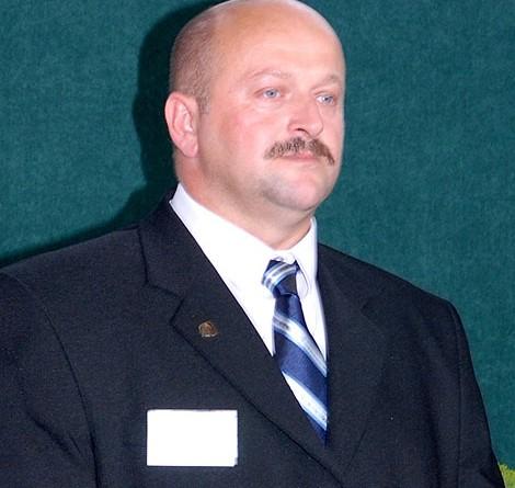 """Dyrektor """"ogólniaka"""" Tadeusz Raczkowski"""