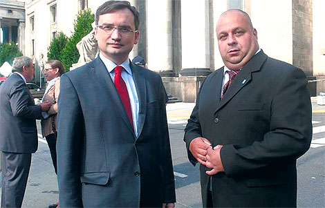Gdy Zbigniew Ziobro był jeszcze członkiem PiS, podczas warszawskiej konwencji wyborczej rozmawiał z Waldemarem Miernikiem o przyszłości polskiej prawicy