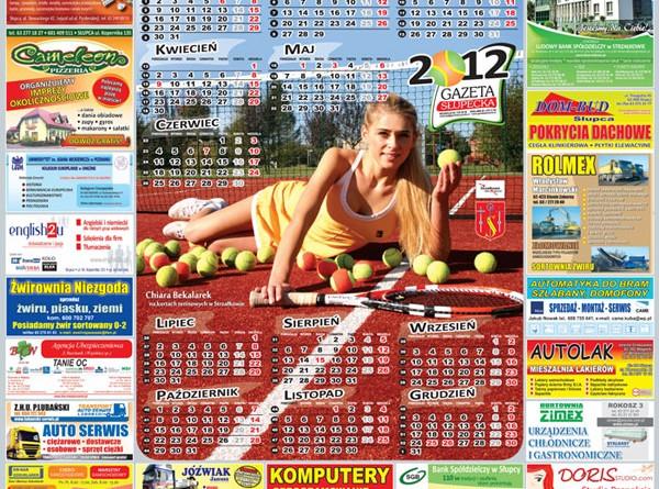 Gazeta Słupecka - Kalendarz 2012 r.