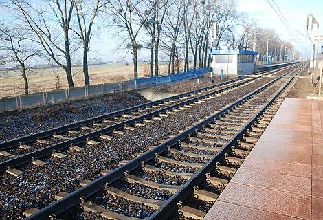 Przystanek kolejowy w Słupcy