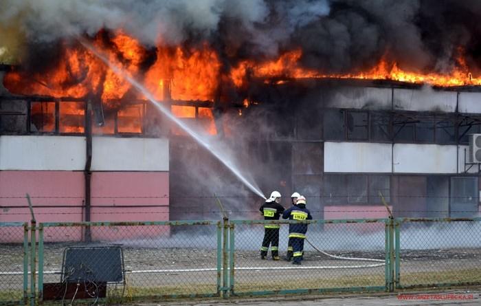Pożar hali DAMWARU