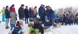 Akcja Zima. Wielki kulig nad jeziorem