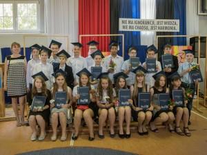 Zakończenie roku szkolnego w SP1 w Słupcy - kl. IV-VI