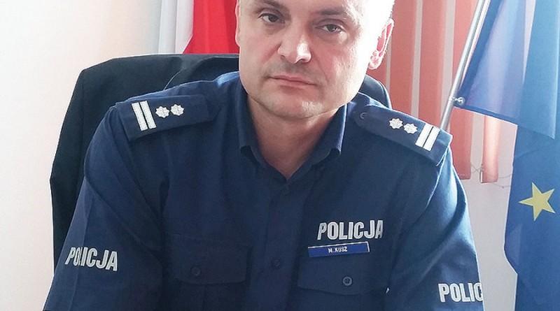 Nowy komendant słupeckiej policji