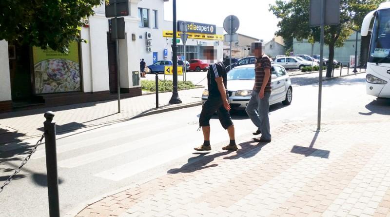 Na-tym-przejściu-dla-pieszych,-w-ubiegłym-tygodniu-samochód-potrącił-mężczyznę