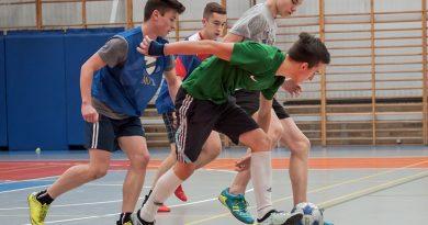 Akcja Zima 2017. Turniej Piłki Nożnej Gimnazjum