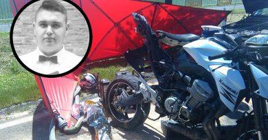 19-letni Adam zginął w wypadku