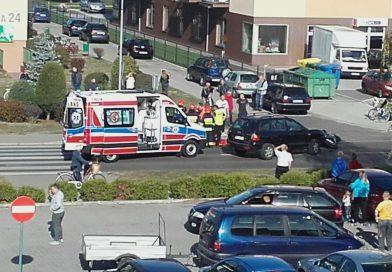 Groźny wypadek na Pileckiego