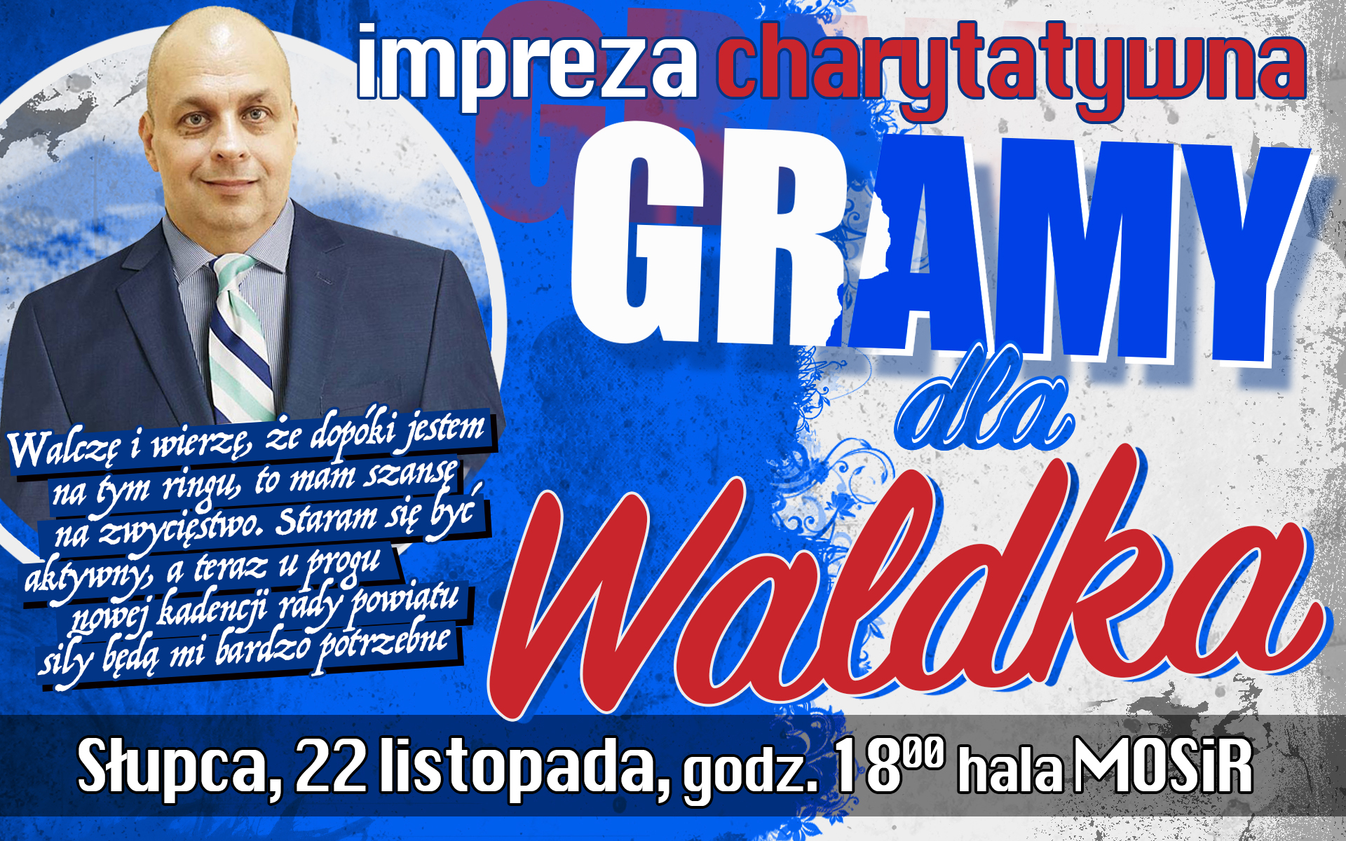 """Impreza charytatywna """"Gramy dla Waldka"""""""