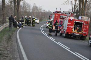 Tragiczna śmierć motocyklisty
