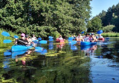 Spływ kajakowy – Piława 2019