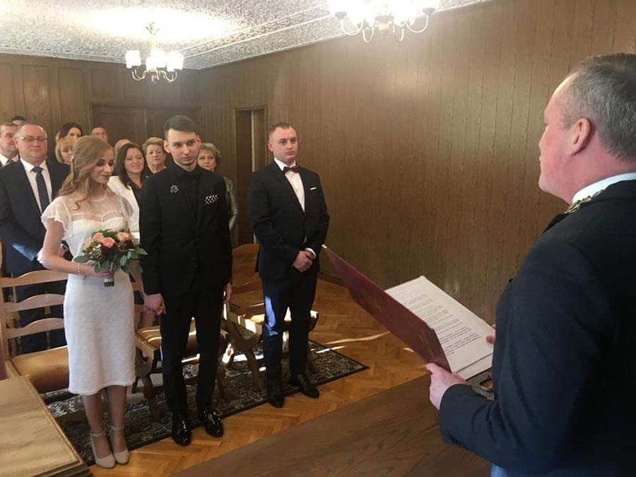 Pierwszy ślub w nowym roku